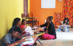 Dessin School of Arts, Dessin School of Arts, charcoal Drawing classes For Kids in chennai Class Room Photo 1