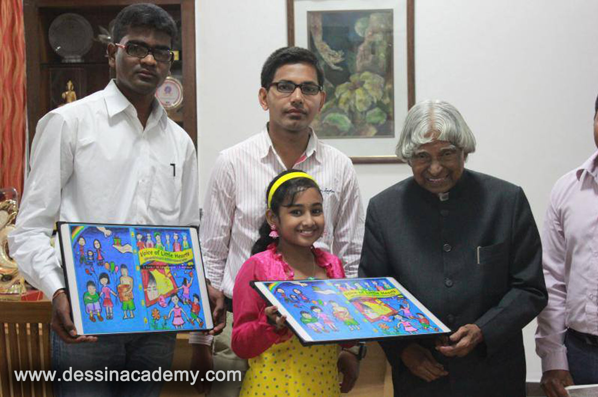 Dessin School of Arts Students Acheivement 1, KGK Play School, Portrait Drawing classes For Kids in Aminjikarai