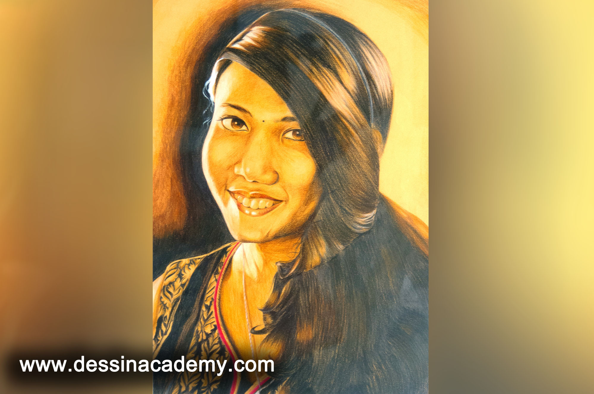 Dessin School of Arts Students Painting, Dessin School of Arts, Pencil Drawing Center in Velachery