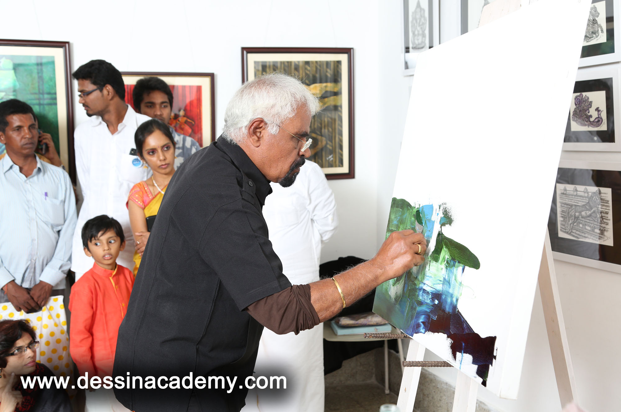 Dessin School of arts Event Gallery 2, Portrait Drawing School For Kids in AminjikaraiKGK Play School