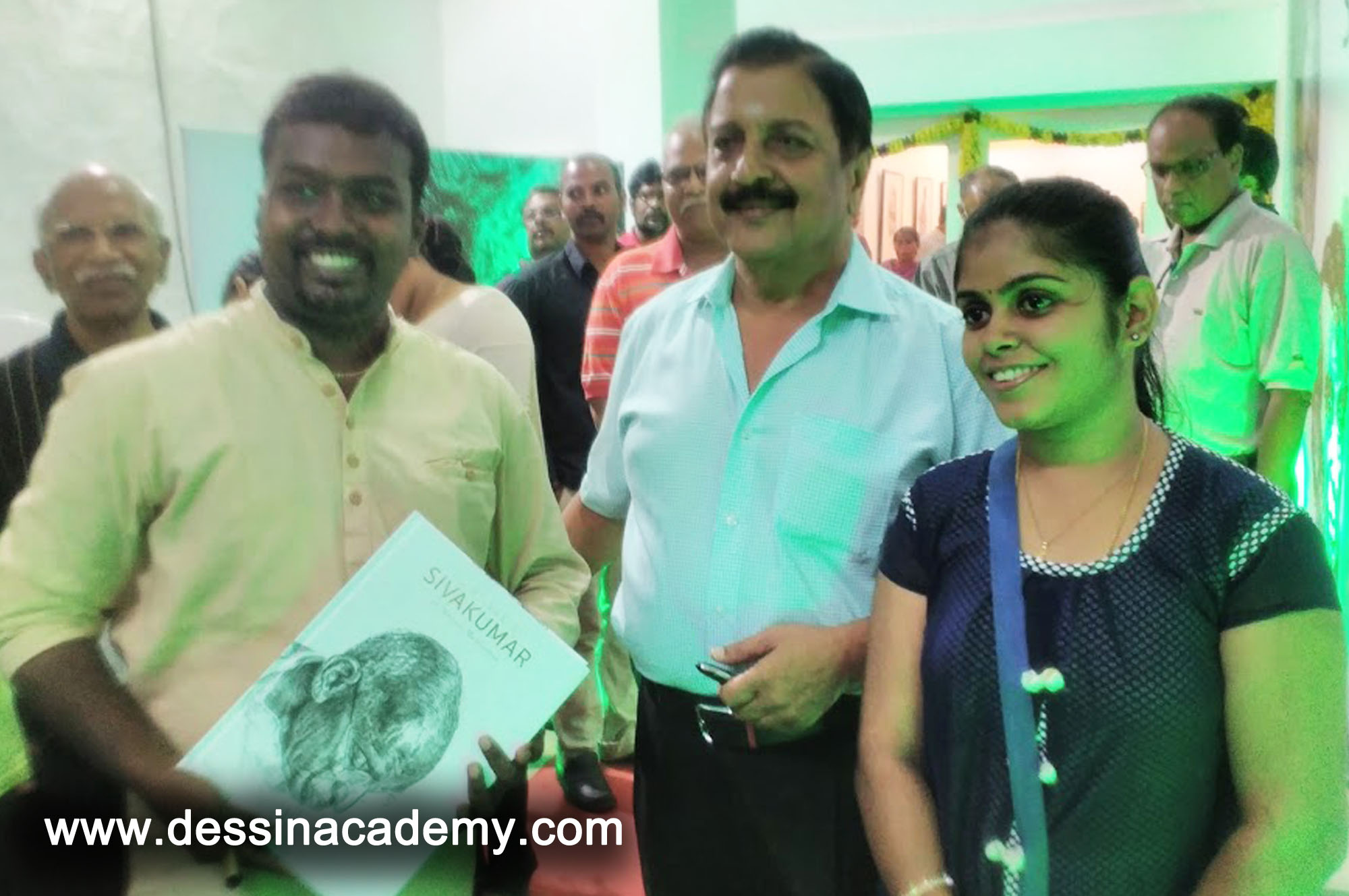 Dessin School of arts Event Gallery 4, canvas painting Institute in Anna Nagar P BlockPearl Kids International