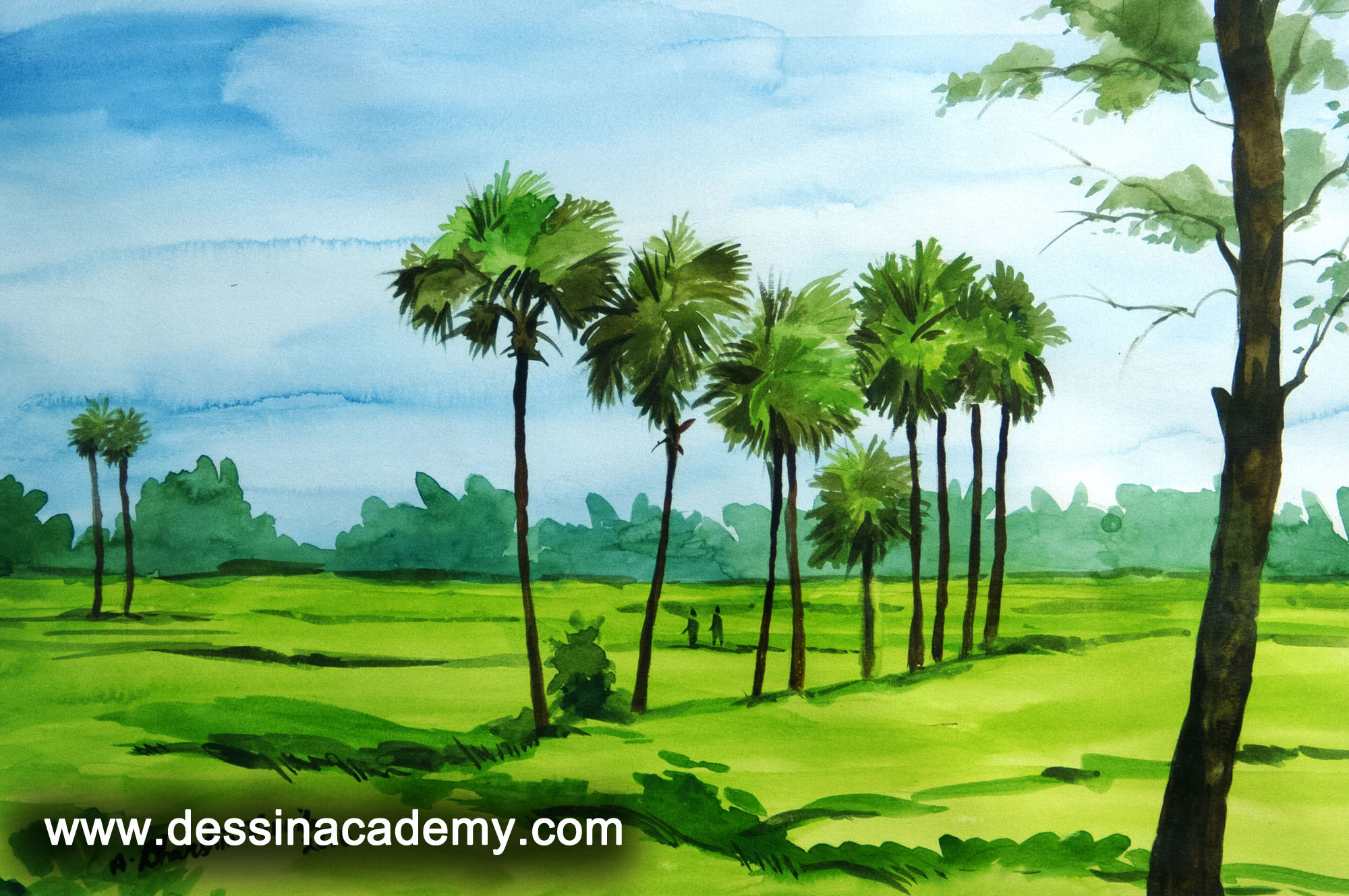 Dessin School of Arts Students Painting, Dessin School of Arts, Pencil Drawing Institute in Anna Nagar East L Block
