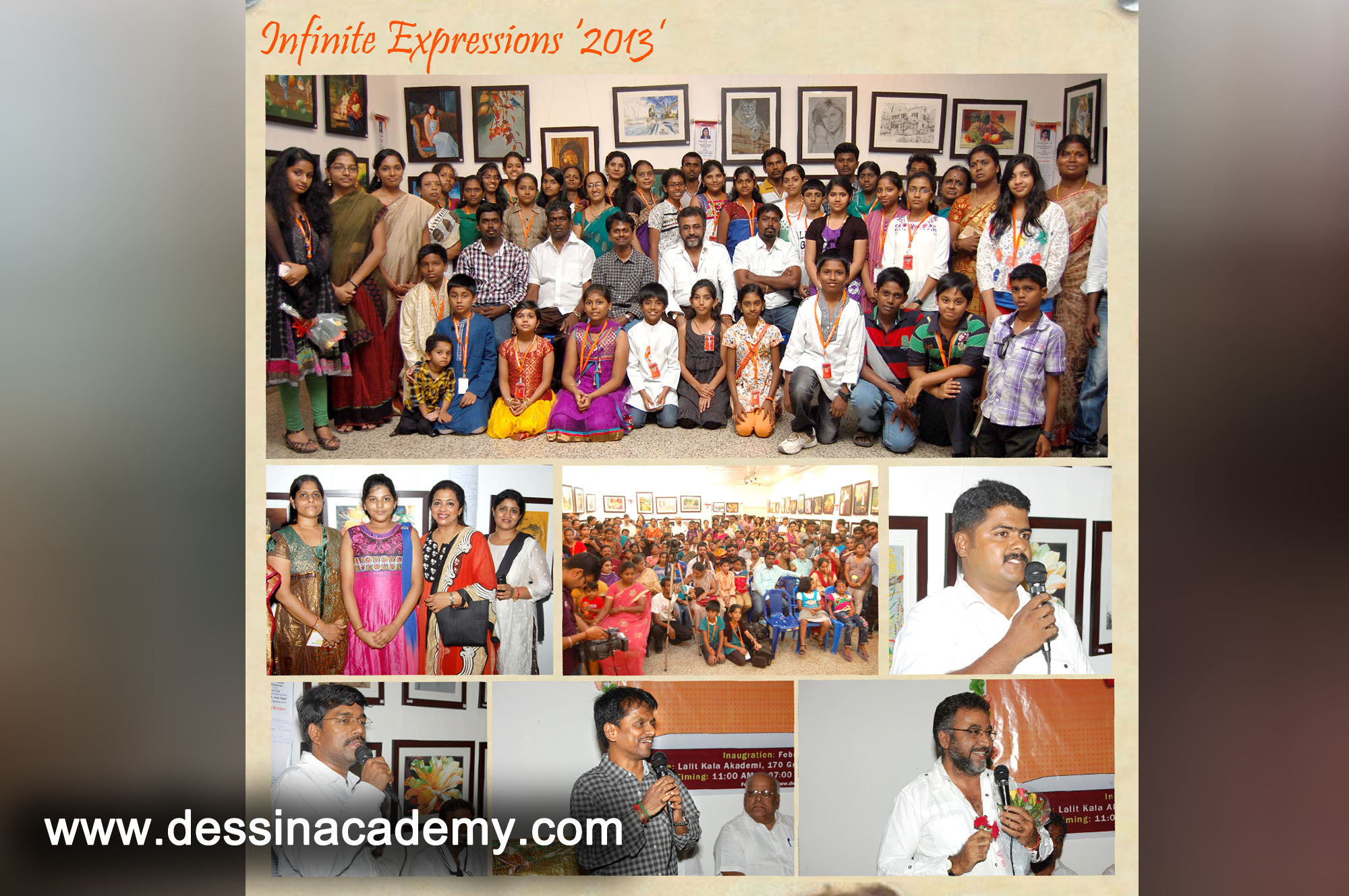 Dessin School of arts Event Gallery 3, part time fine arts courses Coaching in Anna Nagar East L BlockDessin School of Arts