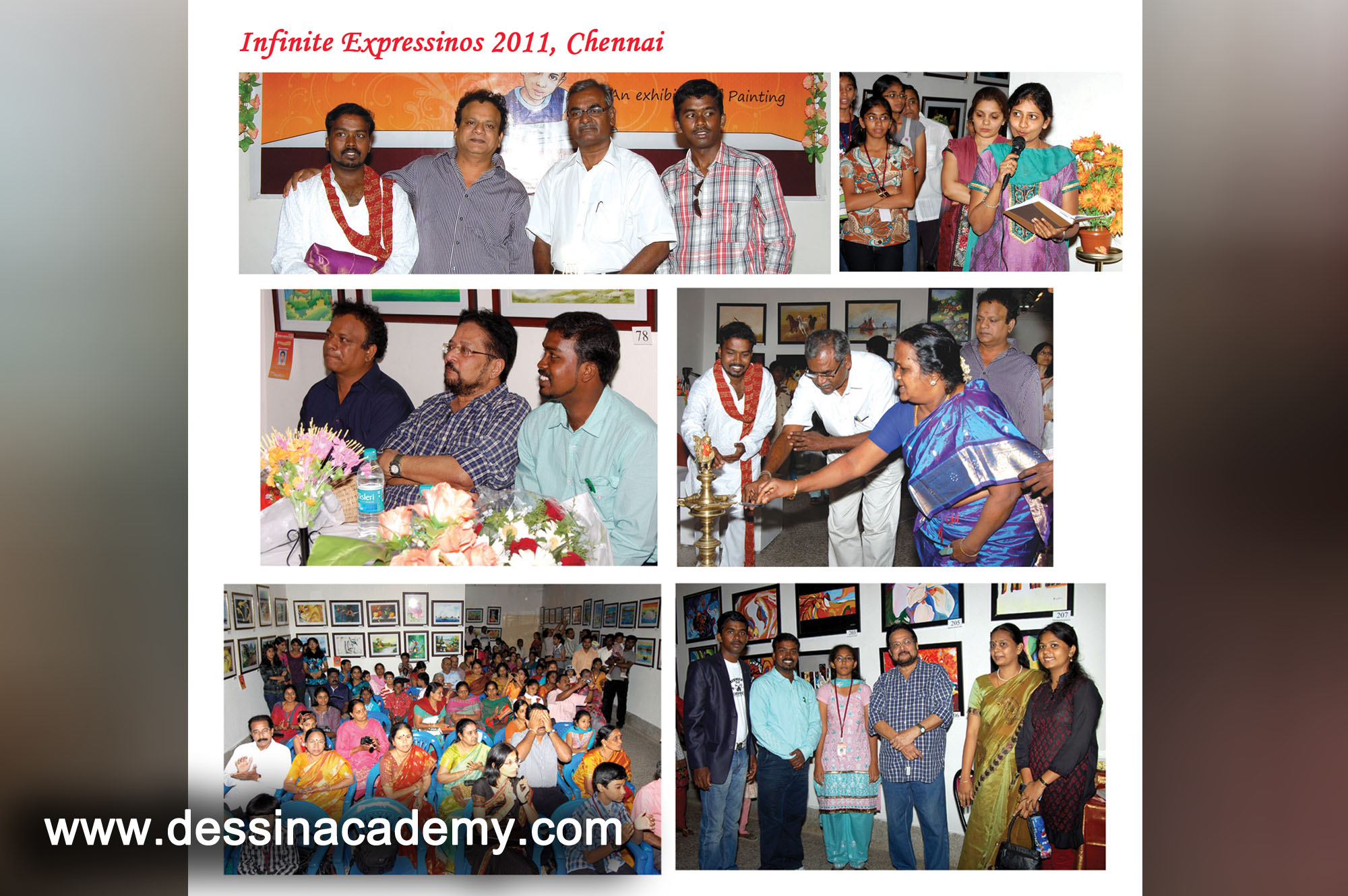 Dessin School of arts Event Gallery 5, part time fine arts courses classes in Anna Nagar East L BlockDessin School of Arts